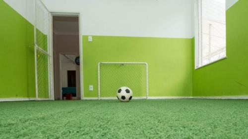 Mini campo de futebol